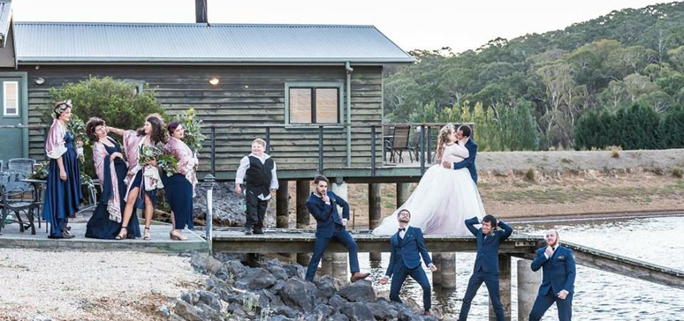 Secluded retreat Wedding Venue